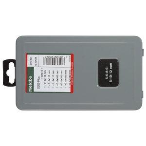 SDS-plus Pro urbja uzgaļu komplekts, 7 gab. 5 - 12mm, Metabo