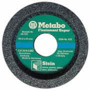 Cup wheel CD30N for stone, Metabo