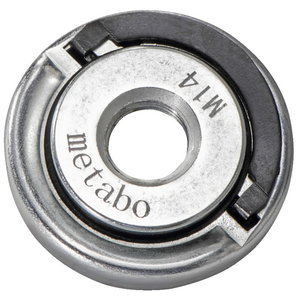 Flange nut, M14, for all single hand angle grinders, Metabo