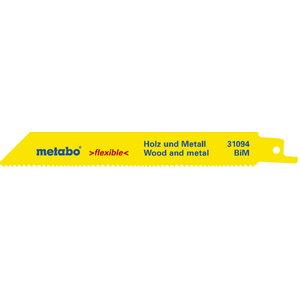 2 Saw blades 0,9/150 mm, BiM - 2pcs, Metabo