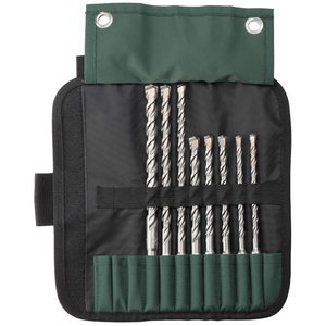 Drill bit set SDS-plus Pro 4, 8-piece, Metabo