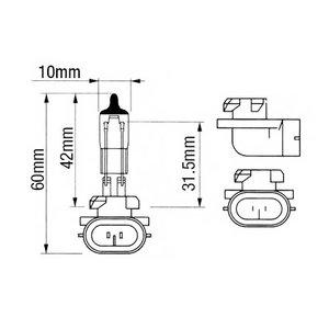 Bulb12V/50W/PGJ13/H886 R136239, Bepco