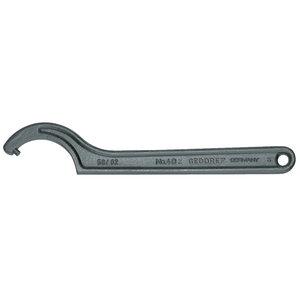 Raktas kablys su smaigu 58-62mm 40Z, Gedore