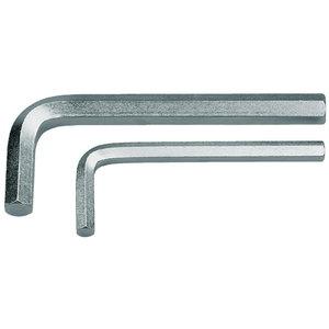 42 17 mm raktas HEX, L-forma, Gedore