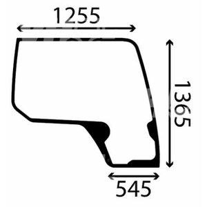 Windowpanel CASE KHN14890, TVH Parts