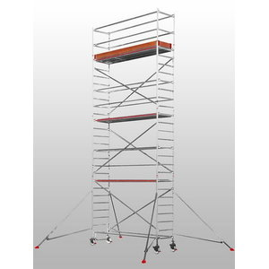 Mobile aluminum scaffolding 6371/, Hymer
