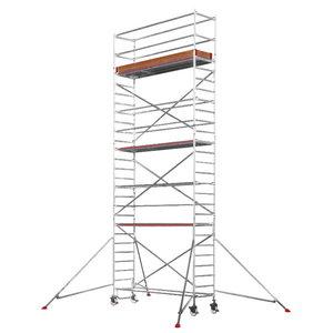 Mobile aluminum scaffolding 6371/ 08, Hymer