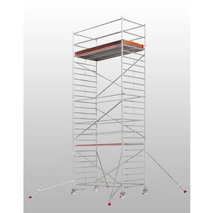 Mobile aluminum scaffolding 6373/, Hymer