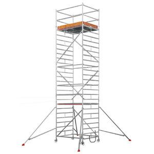 Mobile aluminum scaffolding 6373/ 07, Hymer