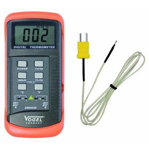 Digit. termomeeter  C°+F°, -50°C ~+1300°C, Vögel