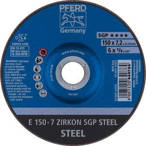 Diskas 150x7,2x22 ZA24 SG-P, Pferd