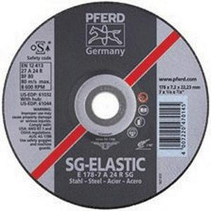 Metāla slīpdisks 150x7mm SG STEEL, Pferd