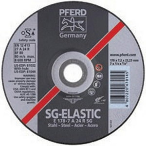 Šlifavimo diskas 150x7mm SG STEEL, Pferd