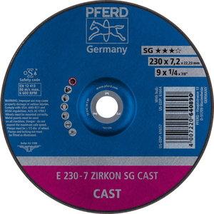 Disks 230x6 ZA 24 T SG, Pferd