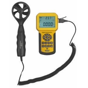 Digital Anemometer, CE, 0.3 ~ 45 m/s, Vögel