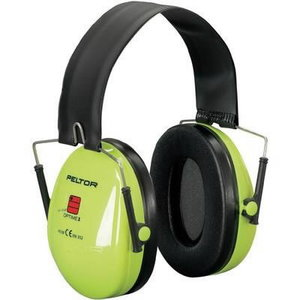 Austiņas, PELTOR OPTIME I, HiViz, galvas stīpa, SNR: 27 dB XA007702120, 3M