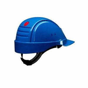 Helmet Peltor Uvicator, button adjustable, blue G2000NUVBB, 3M