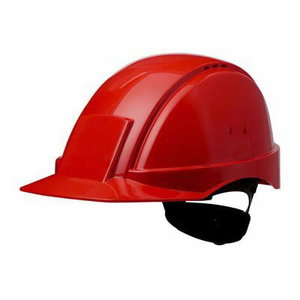 Helmet Peltor Uvicator, button adjustable, red, 3M