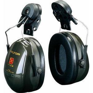 Austiņas, ķiveres stiprinājums, PELTOR OPTIME II, SNR: 30 dB XH001650700, 3M