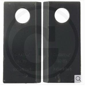 Blade 105x49x4 6+6 L+R 0540.03.24.002 MINO-000-005