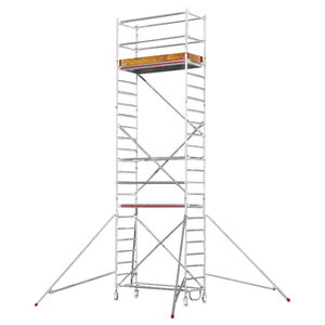 Mobile aluminum scaffolding 6472/, Hymer