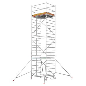 Mobile aluminum scaffolding 6473/, Hymer