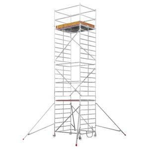 Mobile aluminum scaffolding 6473/ 10, Hymer