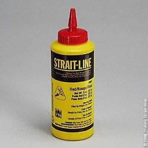 STRAIT-LINE, Chalk, 227 g/red, Irwin