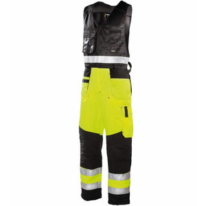 Hi-Vis semi-ocerall  6490 yellow/black, Dimex