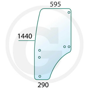 Door screen L R201575, Granit