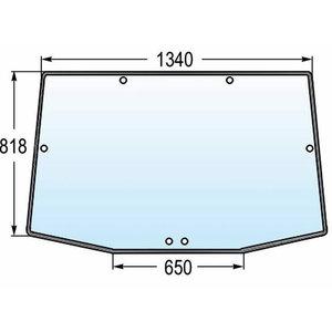 Tagaklaas 8020 R131208, Granit