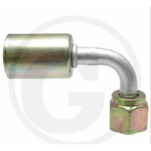 Līkums 90° metāla, Granit