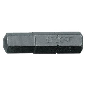 Löökotsak kuuskant 3mm 685 1/4´´, Gedore