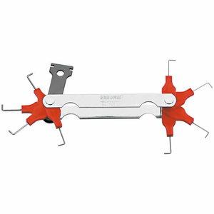 Spark plug gauge 0,4 - 1,0 mm 705 M, Gedore
