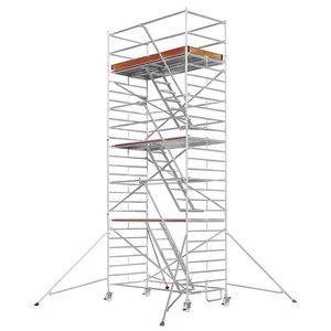 Mobile aluminum scaffolding 6573/ 06, Hymer