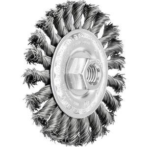 Wheel brush 100x12xM14 ST 0,50 RBG, Pferd