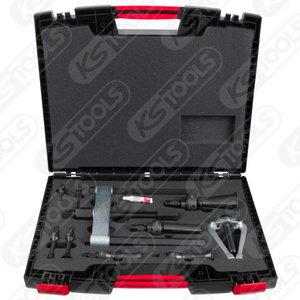 Precision internal extractor set, 10 pcs, Ø10-115mm, Kstools