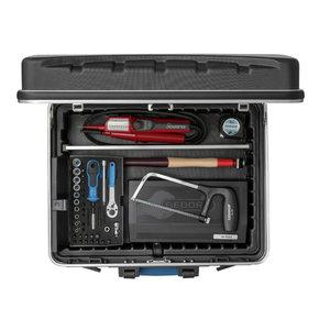 1090 lagaminas su įrankiais elektrikui, 90 dalių, Gedore