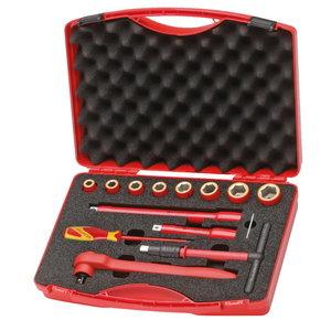 VDE 1001 įrankių komplektas 14 dalių, Gedore