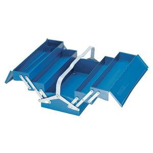 1265 L dėžė įrankiams metalinė, 5 sekc., 420x225x210, Gedore