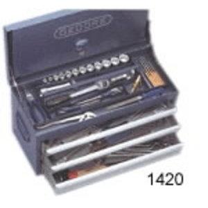 tööriistakast 3 sahtlit 1420L, Gedore
