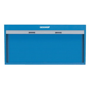 Tool cabinet with metal shutter 890x1810x170mm R 1500 L, Gedore