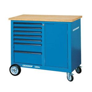 Tööriistakäru/laud ratastel 1100x550x985 1504 0511, Gedore
