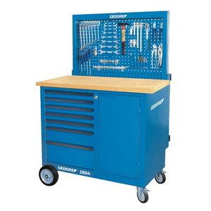 Töölaud ratastel 1100 синяя620 синяя960 BR 1504 LH, GEDORE