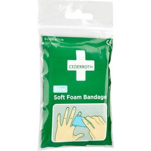 Soft Foam Bandage Blue, 40 cm, Cederroth