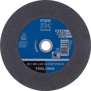 Diskas 80 T400-2,8 A36KSG-CHOP-INOX 25,4, Pferd