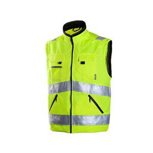 High visibility vest,6740, yellow 2XL, Dimex