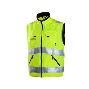High visibility vest 6740, yellow, Dimex
