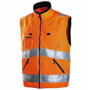 High visibility vest 6740, orange, Dimex