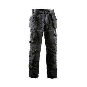 Kelnės su kišenėmis 676 juoda/pilka 54, Dimex